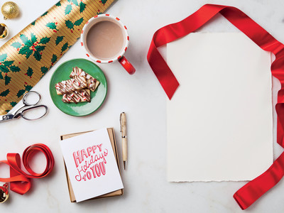 Christmas Cards and Cookies