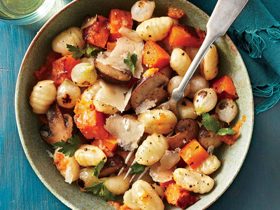 Winter Vegetables and Gnocchi