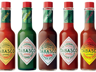 Tabasco Hot Sauce Bottles