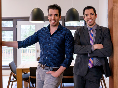The Property Brothers Drew and Jonathan Scott