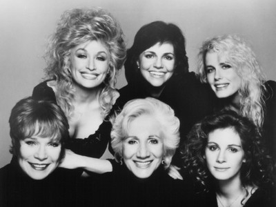 Truvy, M'Lynn, Ouiser, Clairee, Shelby, and Arnelle: Steel Magnolias