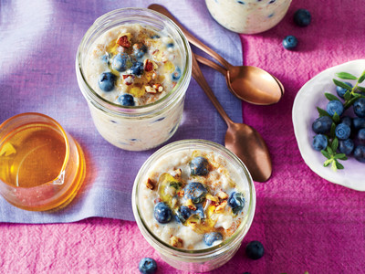 Blueberry Overnight Oatmeal