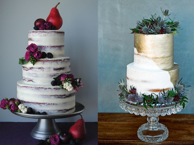 Fall Wedding Cake Designs