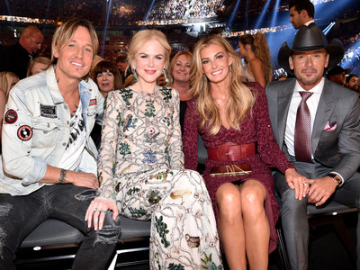 Keith Urban, Nicole Kidman, Faith Hill, Tim McGraw