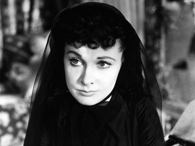 Scarlett O'Hara In Funeral Dress