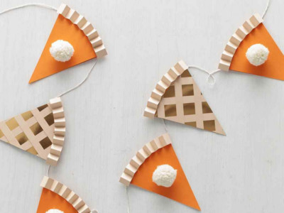 Thanksgiving Pie Garland