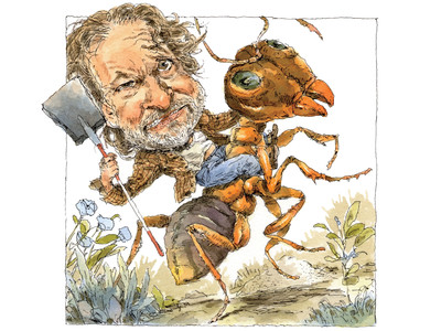 Rick Bragg Riding Fire Ant