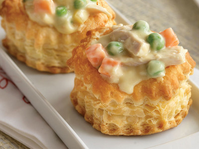 Creamy Turkey Pot Pie Bites