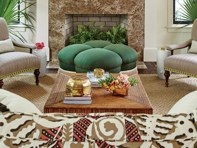 Southern Living 2017 Idea House Living Room