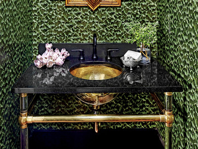 Southern Living Idea House 2017 Powder Room