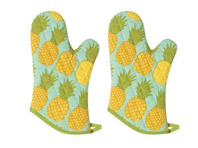 Pineapple Oven Mitts