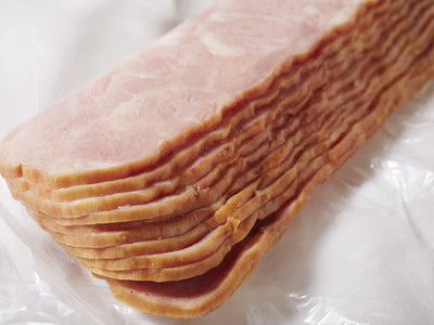 Raw Turkey Bacon