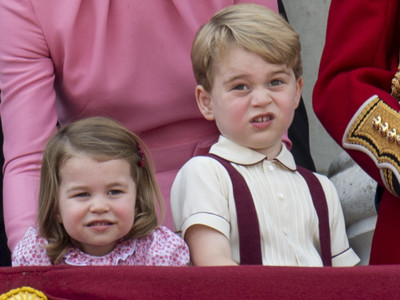 prince george frowning