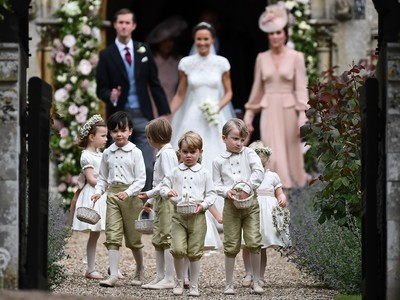 Our Prince Charming! 15 Adorable Photos of George Pippa Middleton Wedding