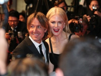Nicole Kidman and Keith Urban at Cannes.