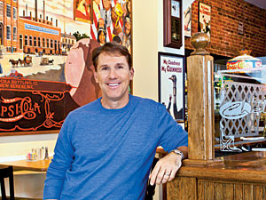Dishing with Nicholas Sparks