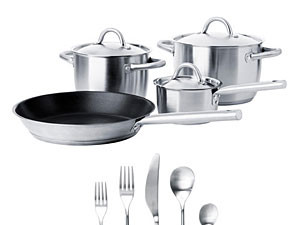 Ikea Cookware & Flatware Set