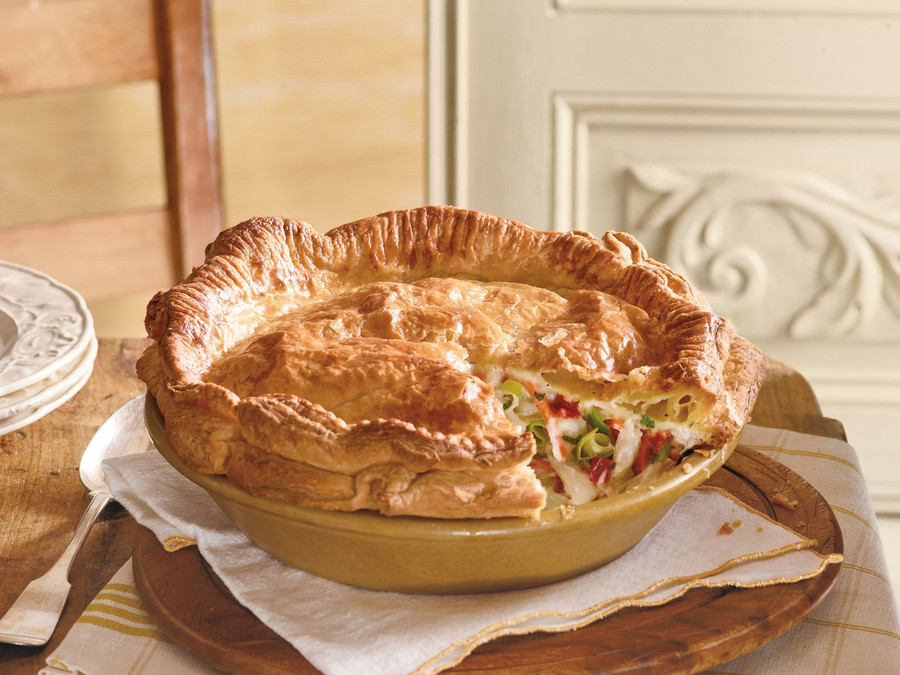 Classic Homemade Chicken Pot Pie Recipe