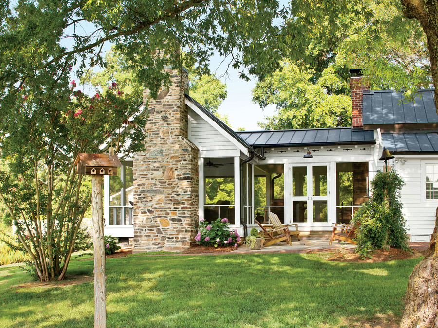 Seamless North Carolina Farmhouse Remodel