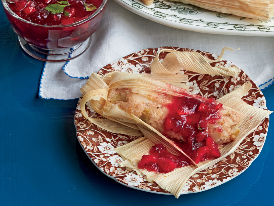 Cheesy Thanksgiving Tamales Recipe