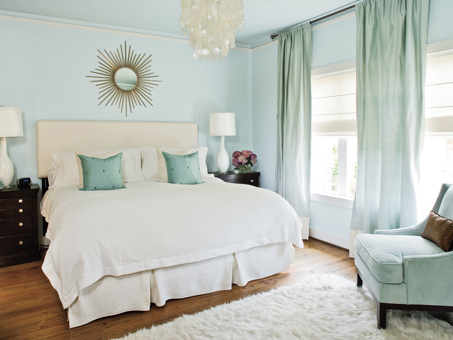 Style guide bedroom walls southern living for C meo bedroom wall dress