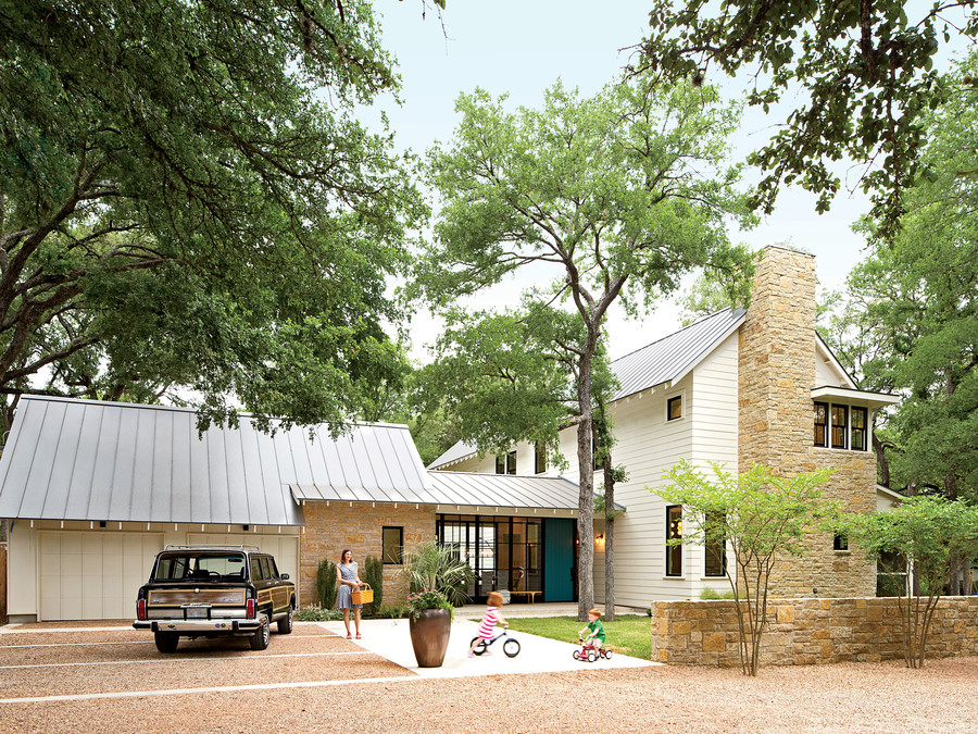 best new home southern living modern update of classic form