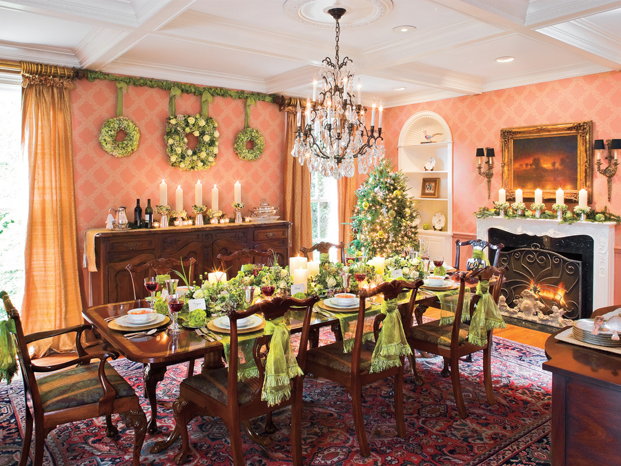 christmas dinner decorating ideas southern living christmas holiday dinner