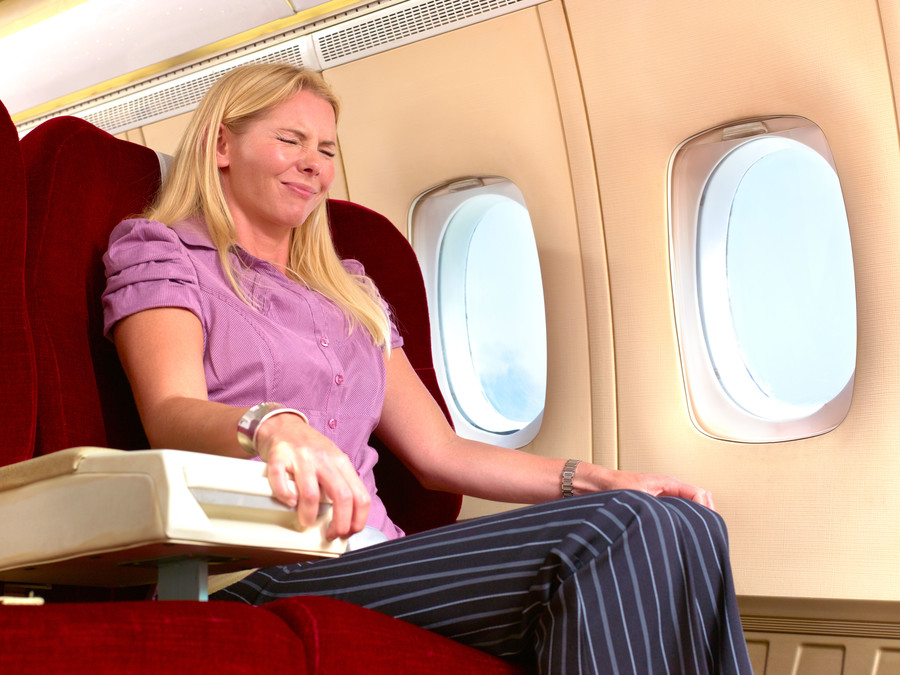 Woman Fear of Flying