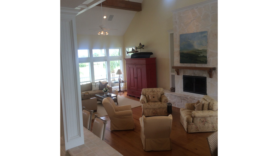 Texas Flanigan Makeover Living Before