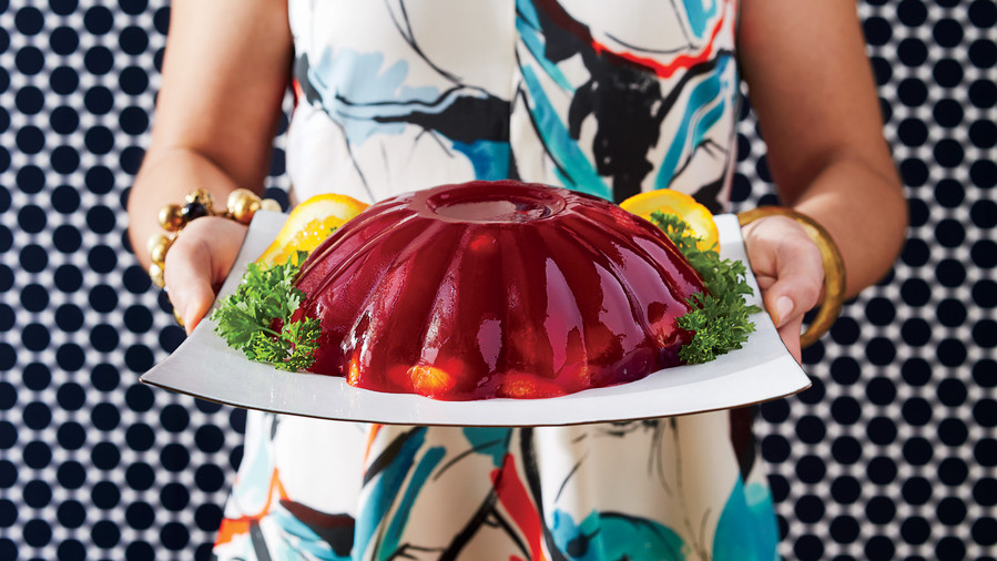 Molded Cranberry Salad (60s)