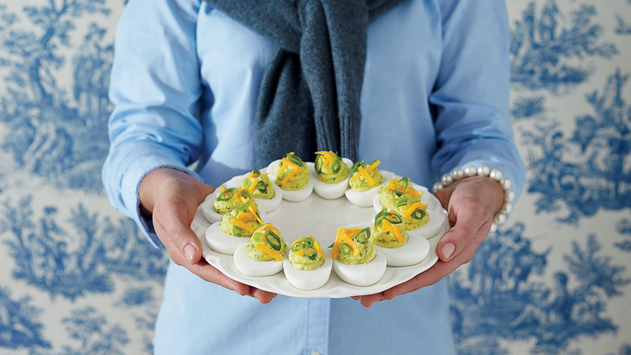 Tex-Mex Deviled Eggs (90s)