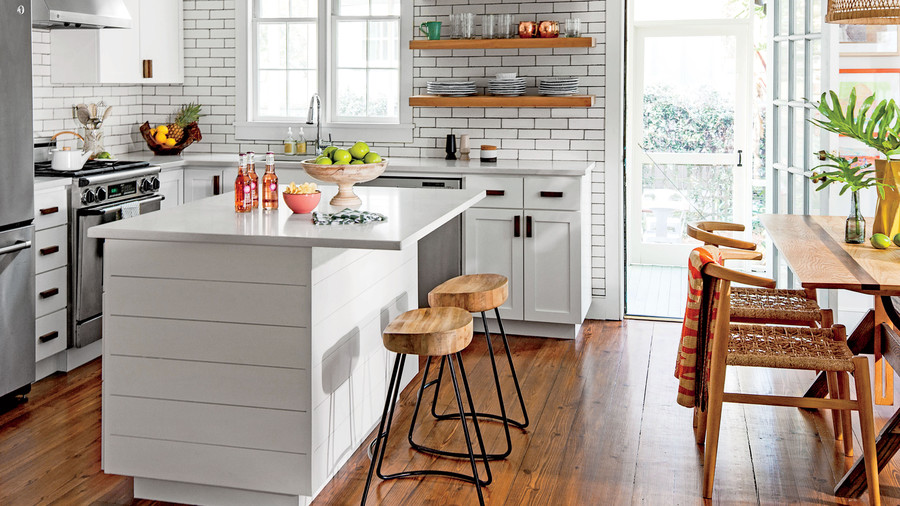 Southern Living & 10 Colorful Ideas for Small House Design