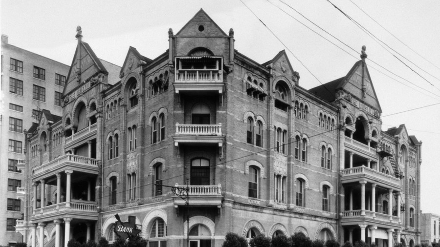 Most Haunted Places The Driskill Hotel