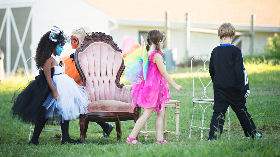 Halloween Party Game Musical Chairs