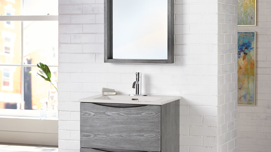 Modern with Neutral Gray Finish