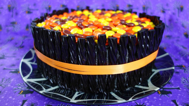 Twizzler and Candy Cake