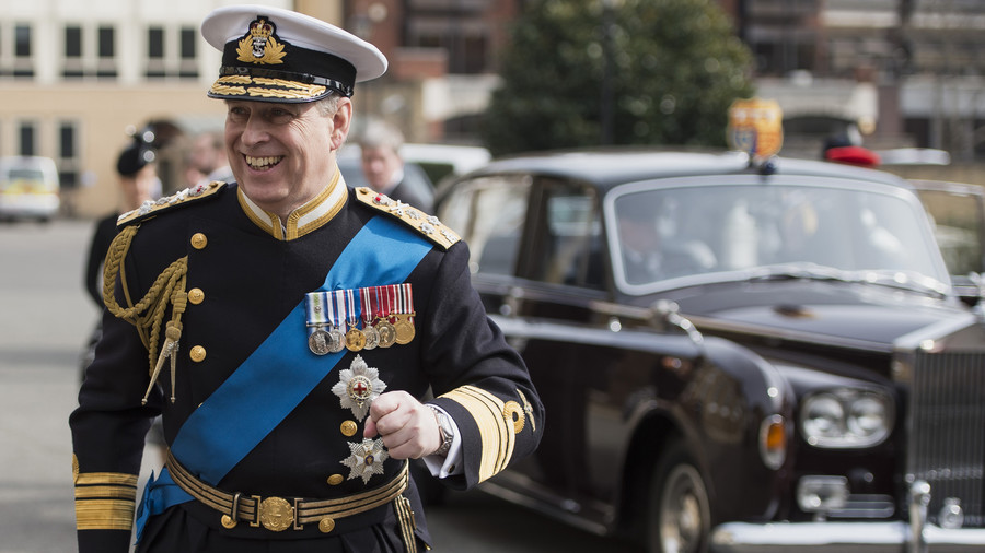 Prince Andrew Full Name