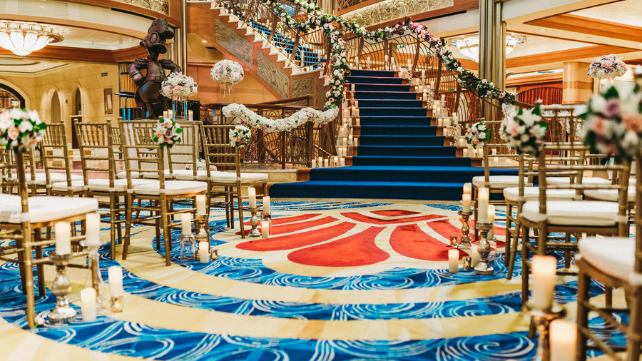 The Atrium on the Disney Dream