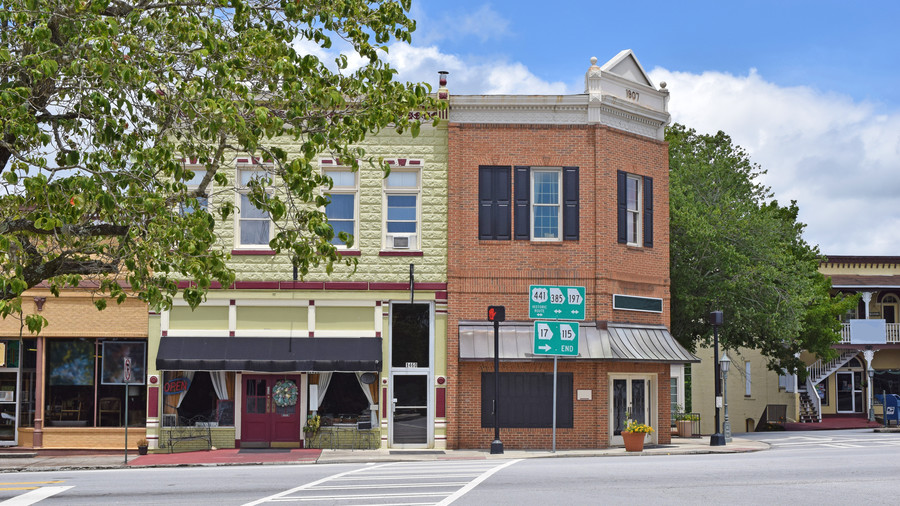 Clarkesville Georgia Historic Downtown