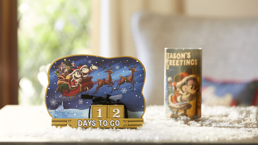 Disney Holiday Countdown