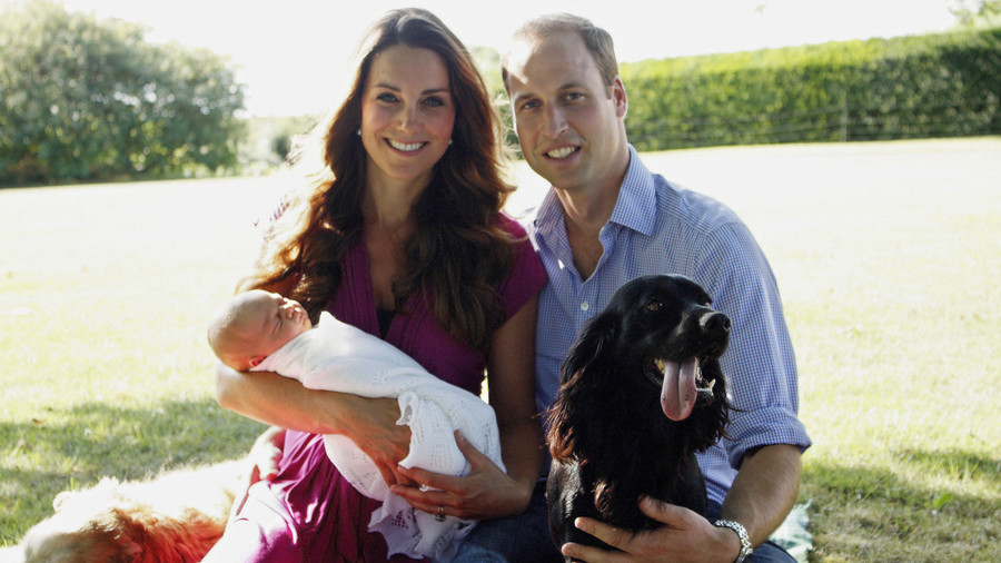 Kate Middleton Mom Moments George Baby Photo