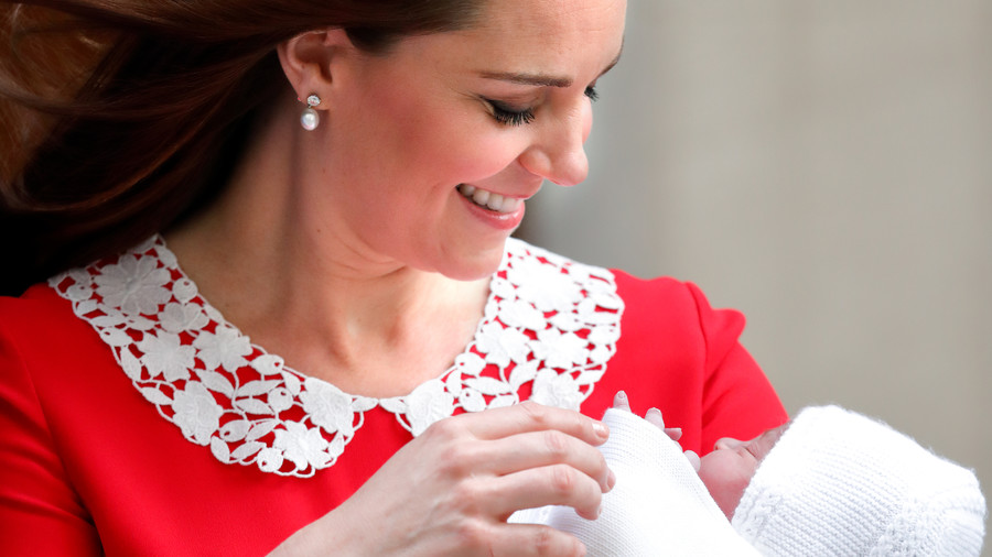 Kate Middleton Mom Moments Louis Debut