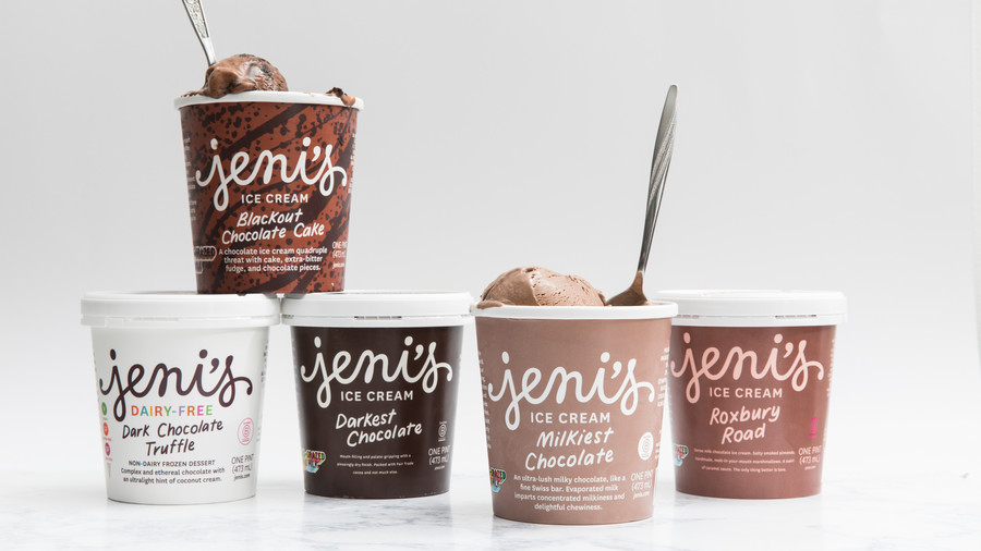 Jeni's Splendid Ice Cream's  All The Chocolates  Collection