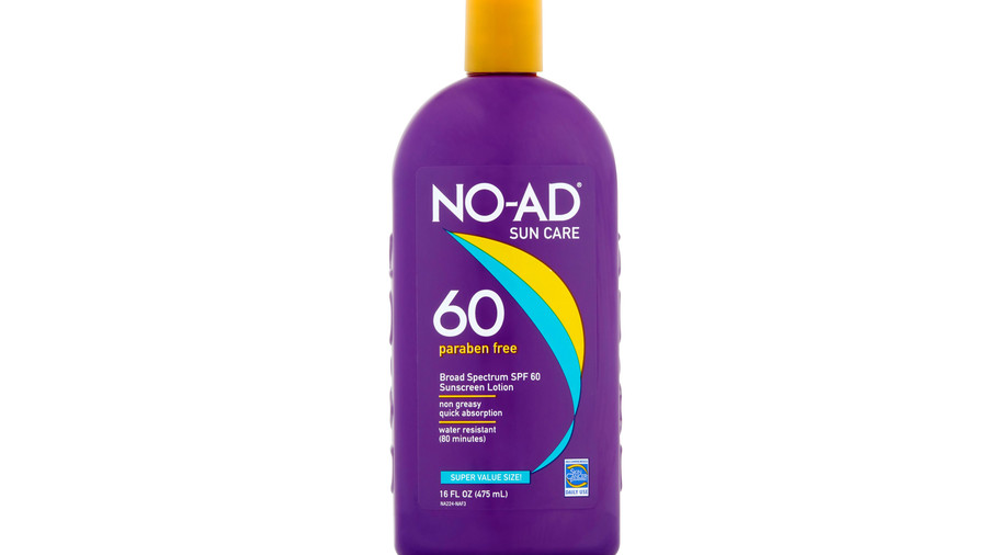 No-Ad Sunscreen Lotion SPF 60