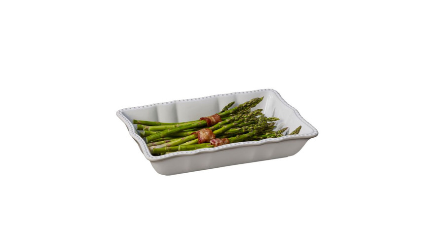 Modern Farmhouse Home Collection Embossed Baking Dish