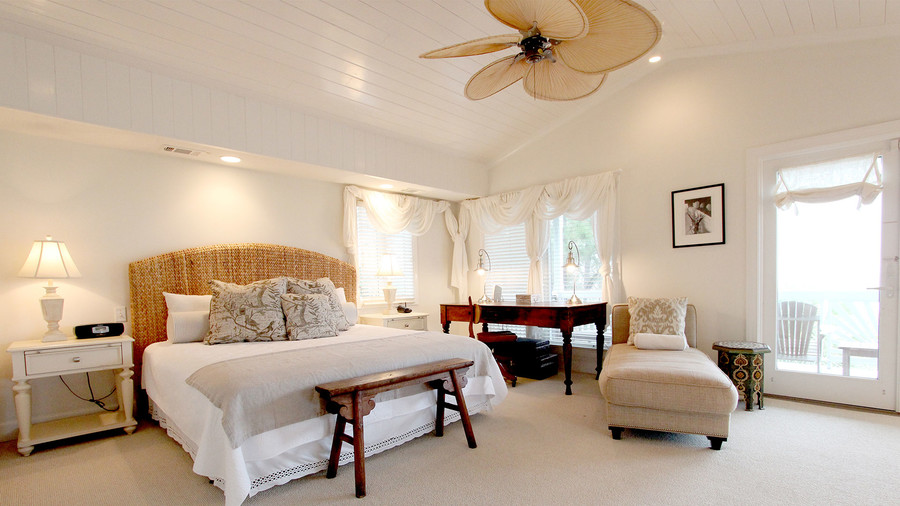Sandra Bullock Tybee Island House Guest House Master Bedroom