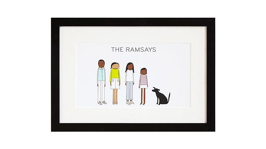 Personalized Family Print
