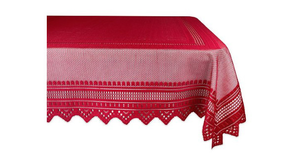 RX_1909 Christmas Tablecloths_Lace Nordic Tablecloth