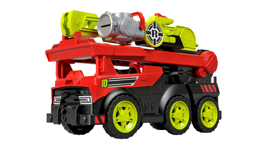 Rescue Heroes Transforming Fire Truck