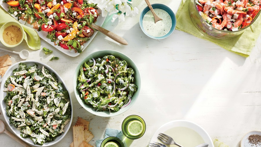 Broccoli Salad with Cider Dressing